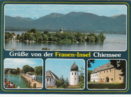 FRAUEN-INSEL CHIEMSEE  -  GERMANY  Ungelaufen  - - Unclassified