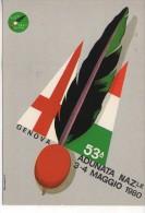 53ª Adunata Nazionale Alpini ANA Genova 1980 Annullo Filatelico - Militari