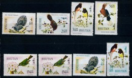 1968 - BHUTAN  - Catg. Mi. 248/251+252+252+254/255 - NH - (CAT85635.4) - Bhutan