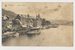 AI66 Dinant, Quai De Meuse - Passed By Censor - Dinant