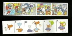 Kinder Ferrero BPZ - Cartina  K 99 - 89 - Tom E Jerry - Handleidingen