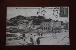 RETHEL Dévasté, Ruines De L'Hôtel De Ville Et De La Rue D'Evigny - Rethel