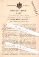 Original Patent  - Samuel Neal Mc Clean In Washington , 1898 , Tasche Für Patronen , Munition , Ammunion !!! - 1914-18