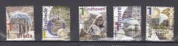 Nederland 2011 Nr 2789a +2790a+2813a +2814a + 2821a Mooi Nederland; Almere,Eindhoven,Apeldoorn, Breda, Enschede - Period 1980-... (Beatrix)