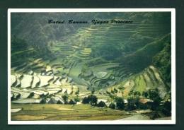 PHILIPPINES  -  Banaue Rice Terraces  Unused Postcard - Philippines