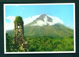 PHILIPPINES  -  Mayon Volcano  Unused Postcard - Philippines