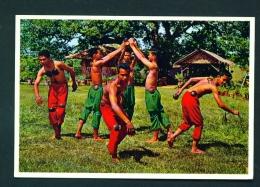 PHILIPPINES  -  Maglalatik  Native Dance  Unused Postcard - Philippines