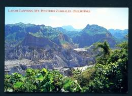 PHILIPPINES  -  Zambales  Lahar Canyons  Unused Postcard - Philippines