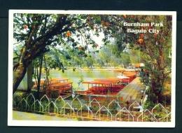 PHILIPPINES  -  Baguio City  Burnham Park  Unused Postcard - Philippines