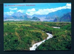 PHILIPPINES  -  Zambales  Mt Pinatubo  Unused Postcard - Philippines