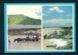 PHILIPPINES  -  Pampanga  Dual View  Unused Postcard - Philippines