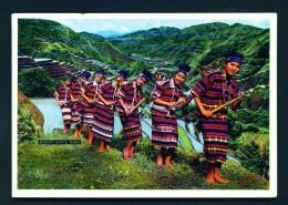 PHILIPPINES  -  Benguet Festival Dance  Unused Postcard - Philippines