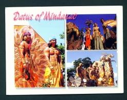 PHILIPPINES  -  Datus Of Mindanao  Unused Postcard - Philippines