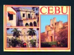 PHILIPPINES  -  Cebu  Multi View  Unused Postcard - Philippines