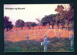 PHILIPPINES  -  Manila  Fort Bonafacio Cemetery  Unused Postcard - Philippines