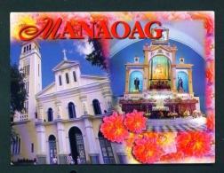 PHILIPPINES  -  Manaoag Church  Unused Postcard - Philippines