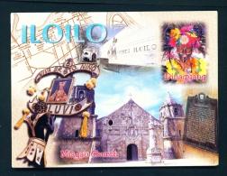 PHILIPPINES  -  Iloilo  Multi View  Unused Postcard - Philippines