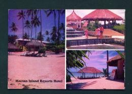 PHILIPPINES  -  Mactan Island  Resorts Hotel  Unused Postcard - Philippines