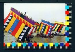 PHILIPPINES  -  Vintas  Muslim Sailboats  Unused Postcard - Philippines