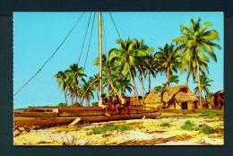 FIJI  -  Koro  Village  Unused Postcard - Fiji