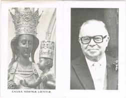 HEERS - HASSELT , Doosdprentje Van LOUIS ROPPE (GOUVERNEUR VAN LIMBURG ) + 1982 - Religion & Esotericism