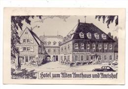 0-8242 ALTENBERG, Hotel Zum Alten Amtshaus Und Amtshof, 1938 - Altenberg