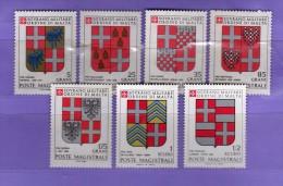 SMOM ** - 1982 -  Stemmi Dei Grandi Maestri.  Yvert. 201/07   MNH.  Vedi Descrizione   ( R ) - Sovrano Militare Ordine Di Malta