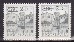YUGOSLAVIA 1984. Definitive, MNH (**), Mi 2090 A, C - 1945-1992 Sozialistische Föderative Republik Jugoslawien