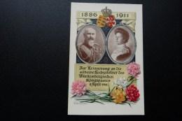 Silberne Hochzeit Württembergisches Königspaar  1911 - Genealogie
