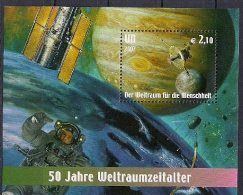 2007 UNO Wien Mi. Bl 21  **MNH  Weltraum - Neufs