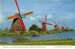 Windmolen Molen   Kinderdijk        A 444 - Moulins à Vent