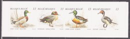 Belgium 1989 Belgien Mi MH30(2384-2387) Birds: Ducks / Vögel: Enten **/MNH - Canards