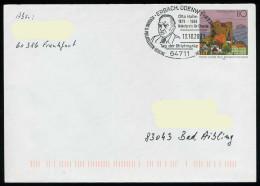 37203) BRD - Ganzsache USo 5 B III Y - SoST In 64711 ERBACH, ODENW 1 Vom 13.10.2001 - Tag Der Briefmarke, Otto Hahn - [7] Federal Republic