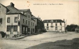 GAULNES LA PLACE DE LA MAIRIE - France