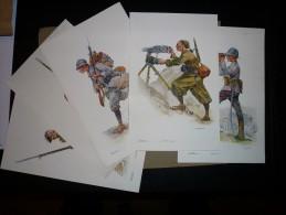 Les Heroiques Soldats De France Derie 1 - Uniformes