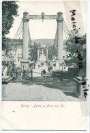 - Torino - Turin - Ponte In Ferro Sul PO, Précurseur, TTBE, Non écrite, Coins Impeccables, Scans.. - Bridges