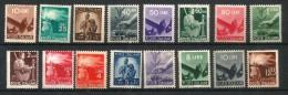 1945 DEMOCRATICA Serietta Non Completa Nuova ** MNH - 6. 1946-.. Repubblica