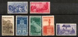 1946 AVVENTO Nuovo Serie Completa  ** MNH - 6. 1946-.. Repubblica