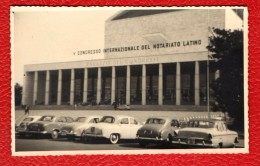 PALAZZO DEI CONGRESSI DI ROMA - FOTO ORIGINALE ANNI '60 - AUTO - Luoghi