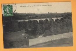 01 Ain Sathonay Le Viaduc Du Chemin De Fer - France