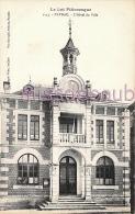 46 -  PAYRAC  - Hôtel De Ville  - Dos Vierge -  2 Scans - Autres Communes