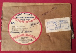 BASEBALL CONGRESS NATIONAL WICHITA KANSAS - BUSTA PER TRIESTE - 1964 - Baseball