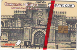 GUATEMALA - Guatemala Historica/Cuartel De Artilleria 1896, Chip GEM3.1, Mint - Guatemala