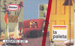 GUATEMALA - La Paleta, Chip GEM 3.1, Mint - Guatemala