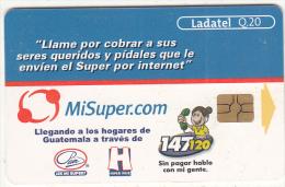 GUATEMALA - MiSuper.com, Chip GEM 3.3, Used - Guatemala