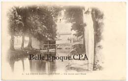 27 - LA CROIX-Saint-LEUFROY - Un Lavoir Sur L'Eure ++++ #4 ++++++ 1904 +++++ RARE - Frankreich