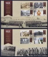 """2015 NIUE """"CENTENARY OF WORLD WAR I / CENTENARIO PRIMA GUERRA MONDIALE"""" FDC - Niue"""