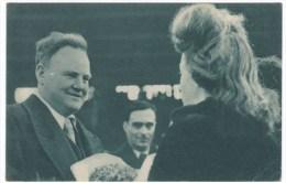 Ivry France 1954 Communist Party Congress, Maurice Thorez Pro Women Statement, C1950s Vintage Postcard - Events