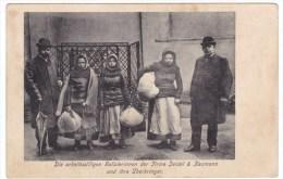 Seidel & Naumann Galician Women Workers Dresden Germany Manufacturer, C1900s Vintage Postcard - Shops