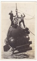 Deep Sea Diving Bell, C1910s/20s Vintage Real Photo Postcard - Altri